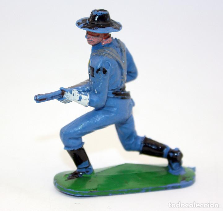 Figuras de Goma y PVC: ANTIGUA FIGURA SOLDADO FEDERAL - PECH - OESTE - CONFEDERADO - FEDERALES - Nº2 - Foto 2 - 95759415