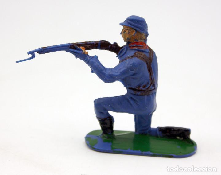 Figuras de Goma y PVC: ANTIGUA FIGURA SOLDADO FEDERAL - PECH - OESTE - CONFEDERADO - FEDERALES - Nº3 - Foto 2 - 95759531