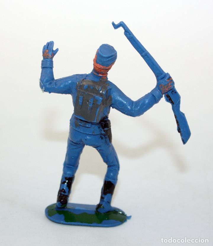Figuras de Goma y PVC: ANTIGUA FIGURA SOLDADO FEDERAL - PECH - OESTE - CONFEDERADO - FEDERALES - Nº6 - Foto 2 - 95759791