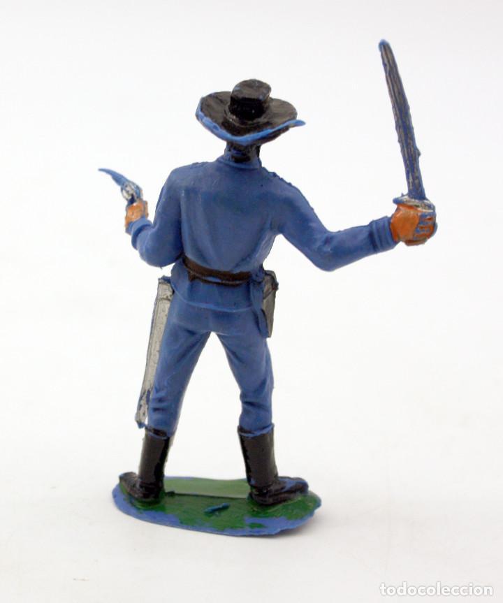 Figuras de Goma y PVC: ANTIGUA FIGURA SOLDADO FEDERAL - PECH - OESTE - CONFEDERADO - FEDERALES - Nº8 - Foto 2 - 95759927