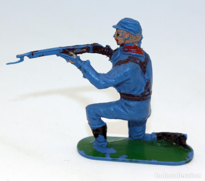 Figuras de Goma y PVC: ANTIGUA FIGURA SOLDADO FEDERAL - PECH - OESTE - CONFEDERADO - FEDERALES - Nº9 - Foto 2 - 95759971