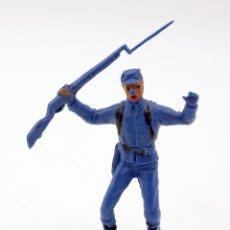 Figuras de Goma y PVC: ANTIGUA FIGURA SOLDADO FEDERAL - PECH - OESTE - CONFEDERADO - FEDERALES - Nº10. Lote 95760023