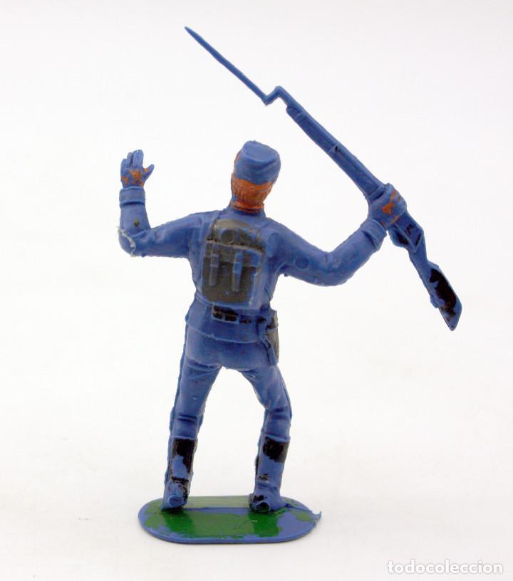 Figuras de Goma y PVC: ANTIGUA FIGURA SOLDADO FEDERAL - PECH - OESTE - CONFEDERADO - FEDERALES - Nº10 - Foto 2 - 95760023