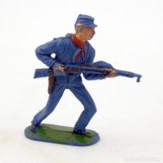 Figuras de Goma y PVC: ANTIGUA FIGURA SOLDADO FEDERAL - PECH - OESTE - CONFEDERADO - FEDERALES - Nº11. Lote 95760095