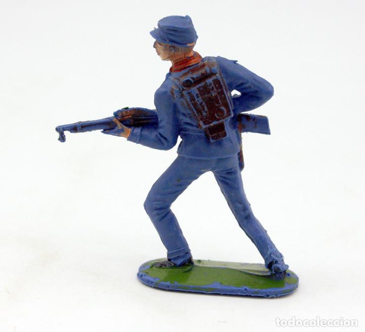 Figuras de Goma y PVC: ANTIGUA FIGURA SOLDADO FEDERAL - PECH - OESTE - CONFEDERADO - FEDERALES - Nº11 - Foto 2 - 95760095