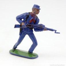 Figuras de Goma y PVC: ANTIGUA FIGURA SOLDADO FEDERAL - PECH - OESTE - CONFEDERADO - FEDERALES - Nº12. Lote 95760127