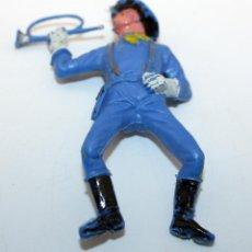 Figuras de Goma y PVC: ANTIGUA FIGURA SOLDADO FEDERAL PARA CABALLO - PECH - OESTE - CONFEDERADO - FEDERALES - Nº14. Lote 95761519
