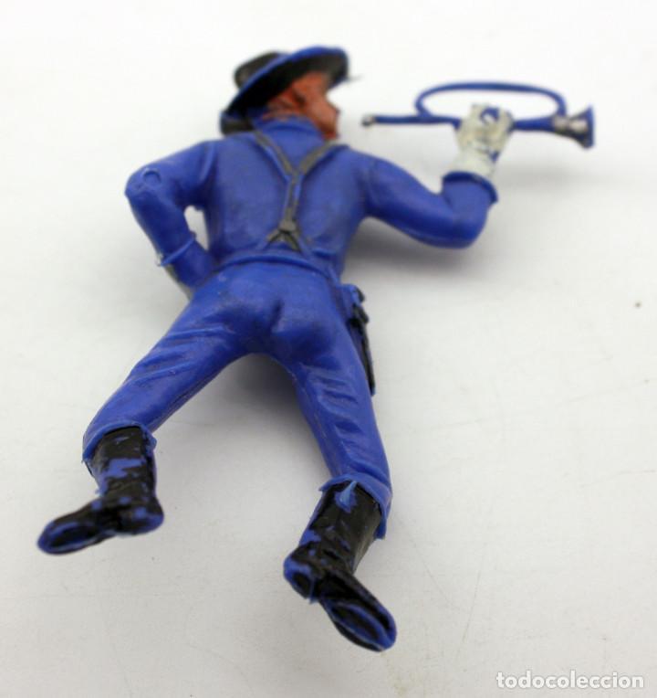 Figuras de Goma y PVC: ANTIGUA FIGURA SOLDADO FEDERAL PARA CABALLO - PECH - OESTE - CONFEDERADO - FEDERALES - Nº14 - Foto 2 - 95761519