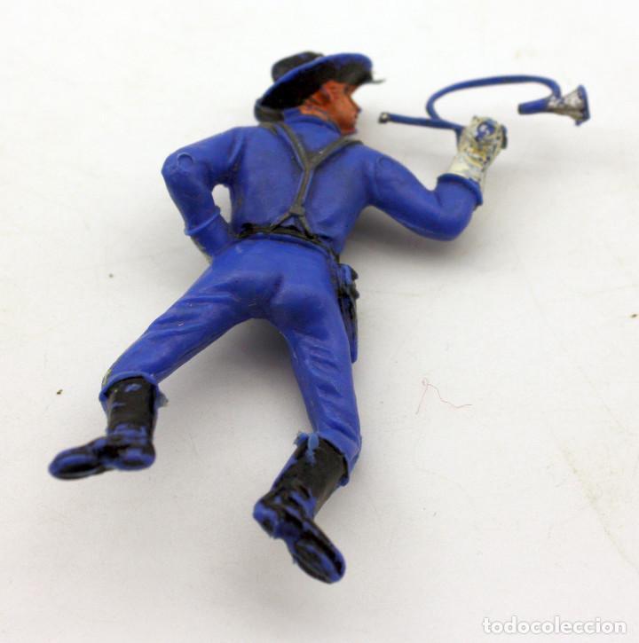 Figuras de Goma y PVC: ANTIGUA FIGURA SOLDADO FEDERAL PARA CABALLO - PECH - OESTE - CONFEDERADO - FEDERALES - Nº17 - Foto 2 - 95761807