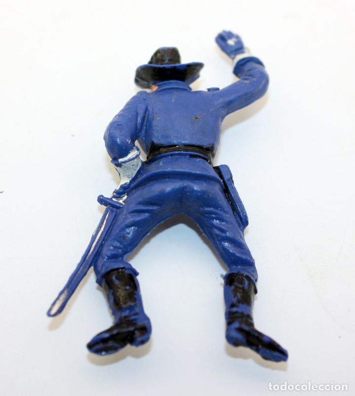 Figuras de Goma y PVC: ANTIGUA FIGURA SOLDADO FEDERAL PARA CABALLO - PECH - OESTE - CONFEDERADO - FEDERALES - Nº19 - Foto 2 - 95761923