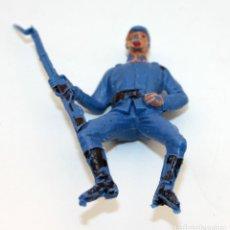 Figuras de Goma y PVC: ANTIGUA FIGURA SOLDADO FEDERAL PARA CABALLO - PECH - OESTE - CONFEDERADO - FEDERALES - Nº20. Lote 95761983