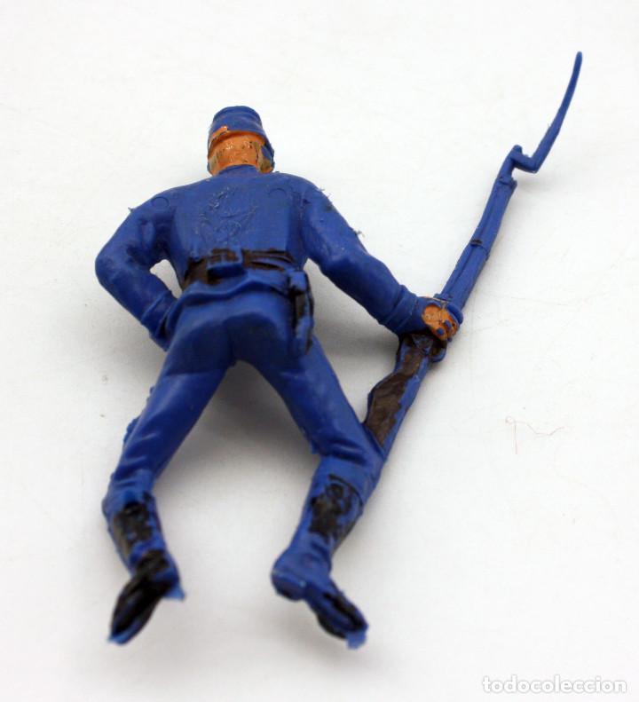 Figuras de Goma y PVC: ANTIGUA FIGURA SOLDADO FEDERAL PARA CABALLO - PECH - OESTE - CONFEDERADO - FEDERALES - Nº20 - Foto 2 - 95761983