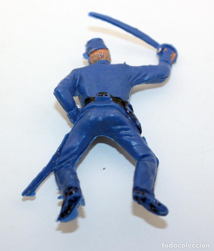 Figuras de Goma y PVC: ANTIGUA FIGURA SOLDADO FEDERAL PARA CABALLO - PECH - OESTE - CONFEDERADO - FEDERALES - Nº21 - Foto 2 - 95762035