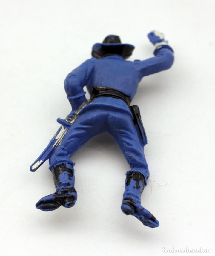 Figuras de Goma y PVC: ANTIGUA FIGURA SOLDADO FEDERAL PARA CABALLO - PECH - OESTE - CONFEDERADO - FEDERALES - Nº22 - Foto 2 - 95762211