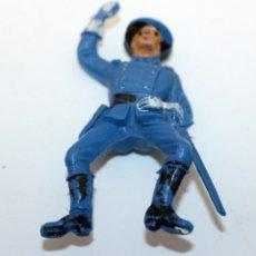 Figuras de Goma y PVC: ANTIGUA FIGURA SOLDADO FEDERAL PARA CABALLO - PECH - OESTE - CONFEDERADO - FEDERALES - Nº23. Lote 95762243