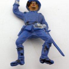Figuras de Goma y PVC: ANTIGUA FIGURA SOLDADO FEDERAL PARA CABALLO - PECH - OESTE - CONFEDERADO - FEDERALES - Nº24. Lote 95762275