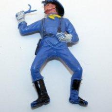 Figuras de Goma y PVC: ANTIGUA FIGURA SOLDADO FEDERAL PARA CABALLO - PECH - OESTE - CONFEDERADO - FEDERALES - Nº25. Lote 95762307