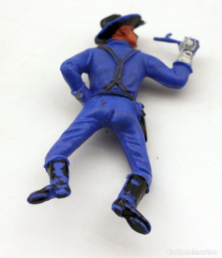 Figuras de Goma y PVC: ANTIGUA FIGURA SOLDADO FEDERAL PARA CABALLO - PECH - OESTE - CONFEDERADO - FEDERALES - Nº25 - Foto 2 - 95762307