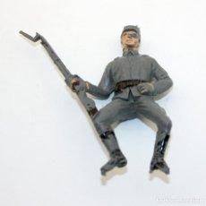 Figuras de Goma y PVC: ANTIGUA FIGURA SOLDADO CONFEDERADO PARA CABALLO - PECH - OESTE - FEDERAL - FEDERALES - Nº26. Lote 95763271