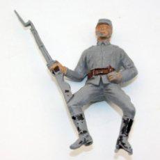 Figuras de Goma y PVC: ANTIGUA FIGURA SOLDADO CONFEDERADO PARA CABALLO - PECH - OESTE - FEDERAL - FEDERALES - Nº27. Lote 95763327