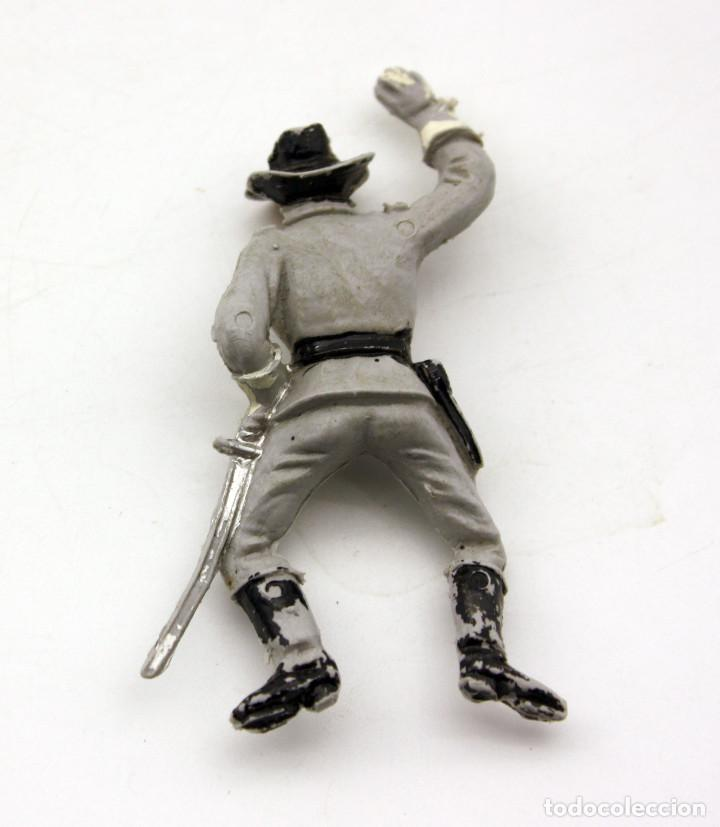 Figuras de Goma y PVC: ANTIGUA FIGURA SOLDADO CONFEDERADO PARA CABALLO - PECH - OESTE - FEDERAL - FEDERALES - Nº28 - Foto 2 - 95763351