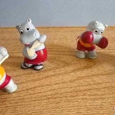 Figuras Kinder: 1993 KINDER SORPRESA BANDA HIPPOS HIPOS HIPOPOTAMOS FERRERO. Lote 95839663