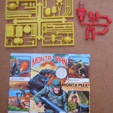 MONTAPLEX MONTAMAN MONTA-MAN Nº 4 SOBRE ABIERTO CON MATRICES SIN DESTROQUELAR