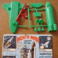 Figuras de Goma y PVC: MONTAPLEX MONTAMAN MONTA-MAN Nº 49 LANZADERA ESPACIAL SOBRE ABIERTO CON MATRICES SIN DESTROQUELAR. Lote 95941467