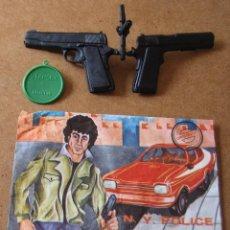 Figuras de Goma y PVC: MONTAPLEX Nº 228 SARGENTO DETECTIVE N.Y. POLICE SOBRE ABIERTO CON MATRICES SIN DESTROQUELAR. Lote 95971067