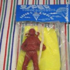 Figuras de Goma y PVC: SUPER PARACAIDISTA, HEROES DEL ESPACIO, AÑOS 80. Lote 96007955