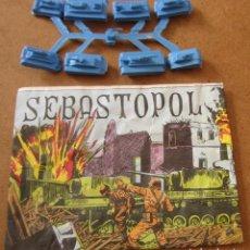 Figuras de Goma y PVC: MONTAPLEX SEBASTOPOL SOBRE ABIERTO CON MATRICES SIN DESTROQUELAR. Lote 96040675