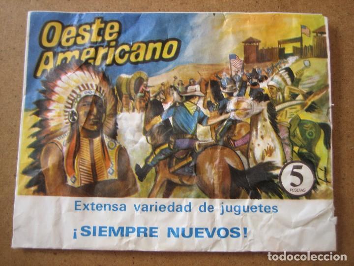 Figuras de Goma y PVC: MONTAPLEX OESTE AMERICANO SOBRE ABIERTO CON MATRICES SIN DESTROQUELAR - Foto 2 - 96042547