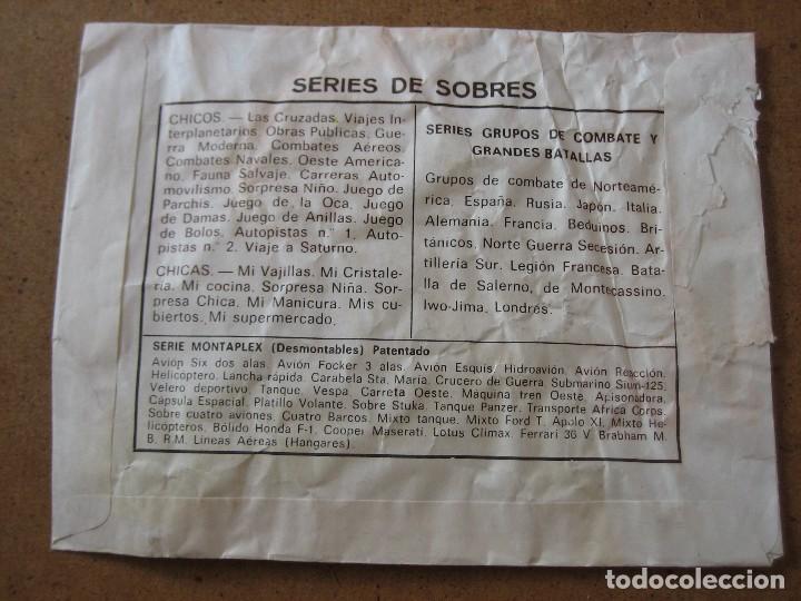 Figuras de Goma y PVC: MONTAPLEX OESTE AMERICANO SOBRE ABIERTO CON MATRICES SIN DESTROQUELAR - Foto 6 - 96042547