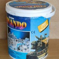 Figuras de Goma y PVC: CUBO COMANSI. ACCION COMANDO REF. 19.002. COMPLETO AÑOS 80.. Lote 96267623
