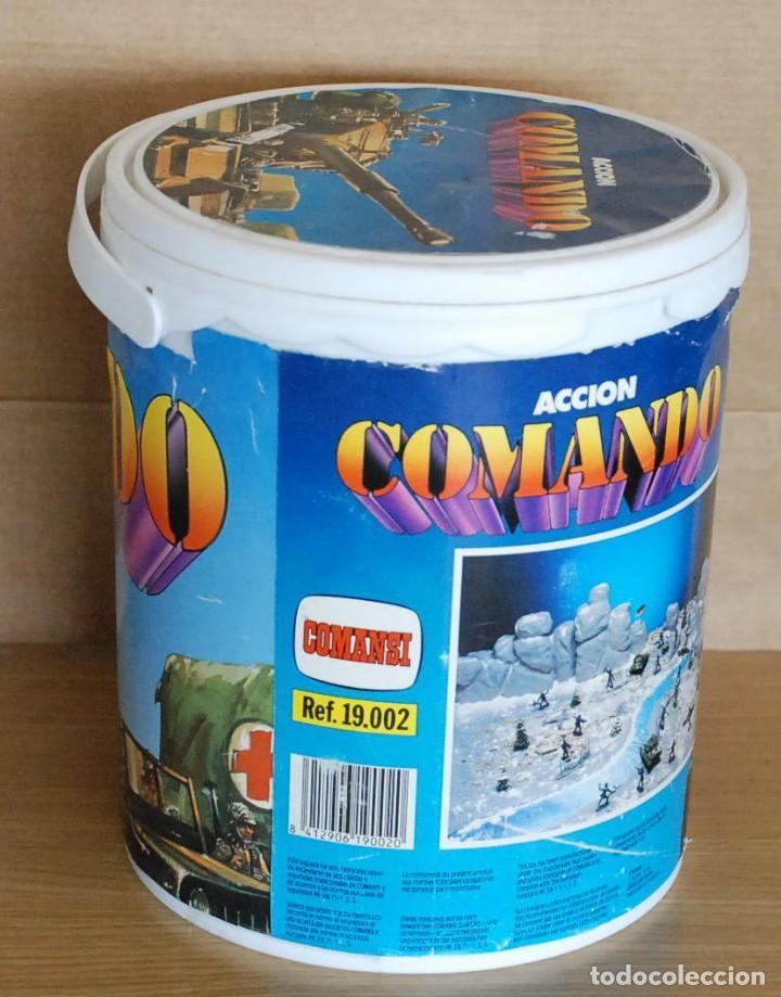 Figuras de Goma y PVC: Cubo Comansi. Accion Comando Ref. 19.002. COMPLETO AÑOS 80. - Foto 2 - 96267623