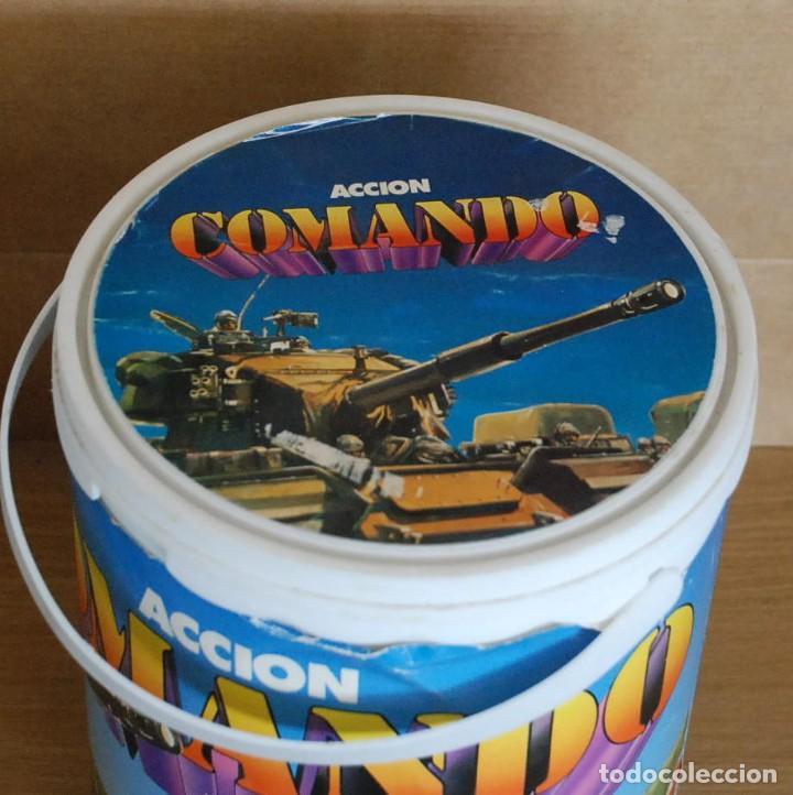 Figuras de Goma y PVC: Cubo Comansi. Accion Comando Ref. 19.002. COMPLETO AÑOS 80. - Foto 3 - 96267623