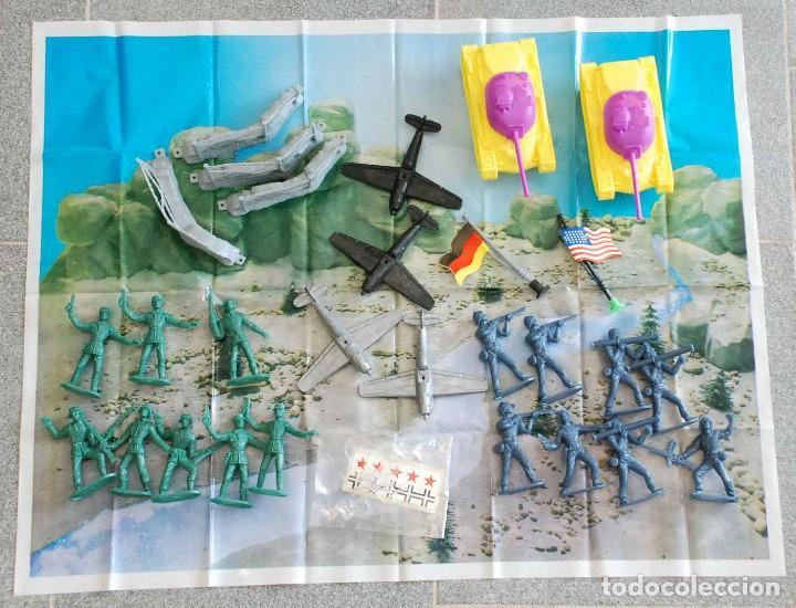 Figuras de Goma y PVC: Cubo Comansi. Accion Comando Ref. 19.002. COMPLETO AÑOS 80. - Foto 4 - 96267623
