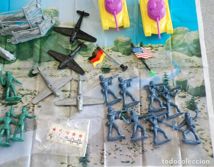 Figuras de Goma y PVC: Cubo Comansi. Accion Comando Ref. 19.002. COMPLETO AÑOS 80. - Foto 5 - 96267623