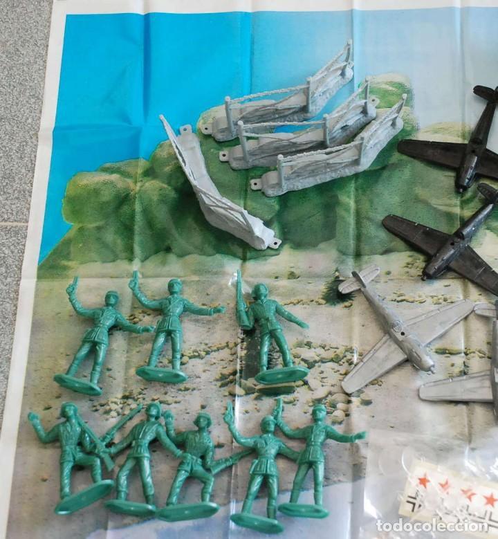 Figuras de Goma y PVC: Cubo Comansi. Accion Comando Ref. 19.002. COMPLETO AÑOS 80. - Foto 6 - 96267623