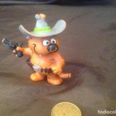 Figuras de Goma y PVC: GATO ISIDORO COMICS SPAIN 2 VAQUERO SIN LA PUNTA DE LA COLA. Lote 96400255