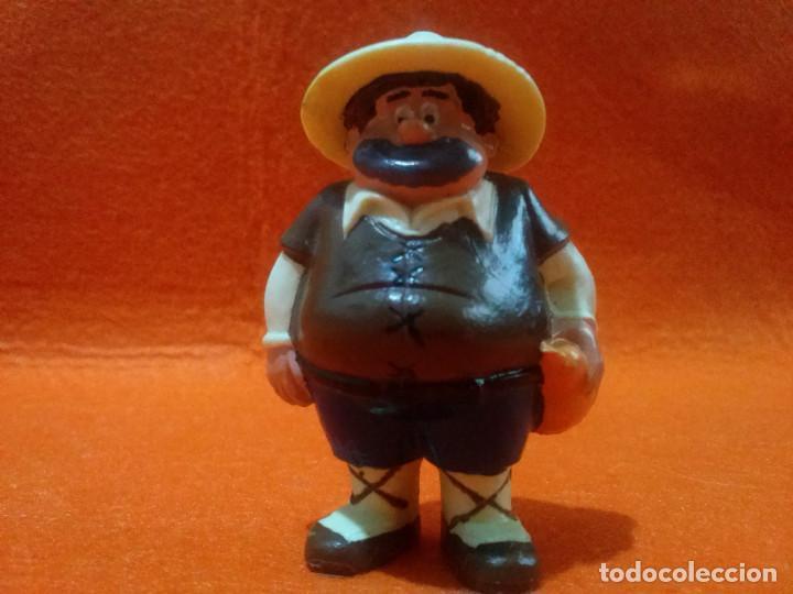 FIGURA SANCHO PANZA DELGADO J.ROMAGOSA (1979) (Juguetes - Figuras de Goma y Pvc - Otras)