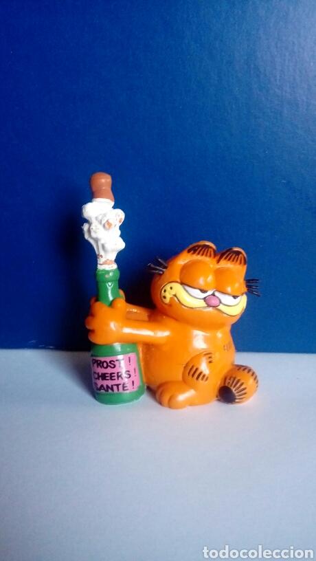 FIGURA PVC ANTIGUA GARFIELD AÑO 1978 - 1981 MARCA BULLY (Juguetes - Figuras de Goma y Pvc - Bully)