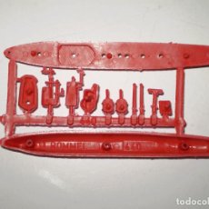 Figuras de Goma y PVC: MONTAPLEX - COLADA BARCO ROMMEL Nº 440 - ROJO. Lote 111759387