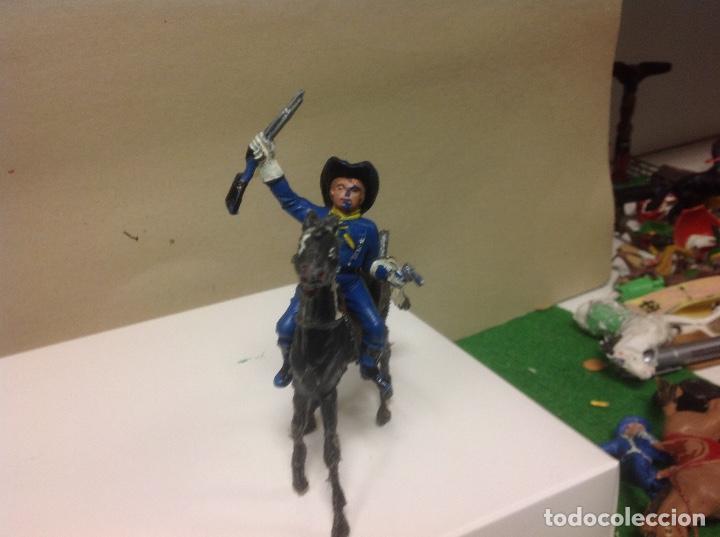 Figuras de Goma y PVC: FIGURA Yankee comansi primera epoca - figura comansi yanqui - soldado comansi - Foto 3 - 96559671