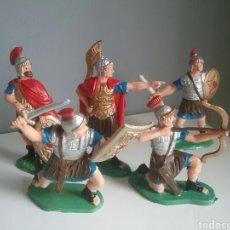 Figuras de Goma y PVC: LEGIONES ROMANAS SERIE BEN-HUR, REAMSA/ GOMARSA , LEGIONARIOS ROMANOS.. Lote 96576723