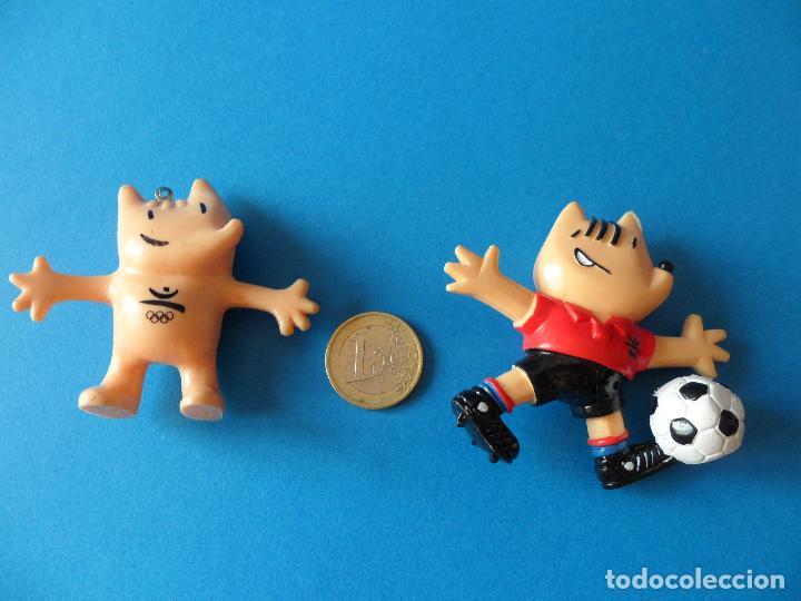 Figuras de Goma y PVC: Lote de Figuras de Coby 1988 Mascota Olimpiadas Barcelona 1992 - Foto 8 - 51054156