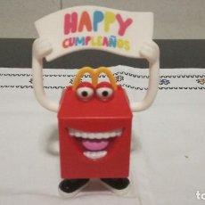 Figuras de Goma y PVC: 39-FIGURA HAPPY CUMPLEAÑOS MC DONALDS. Lote 96633243