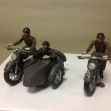 Figuras de Goma y PVC: FIGURA MOTO TEIXIDO - SIDECAR TEIXIDO - FIGURA MILITAR DE TEIXIDO - MOTO SIDECAR DE TEIXIDOR . Lote 96727507