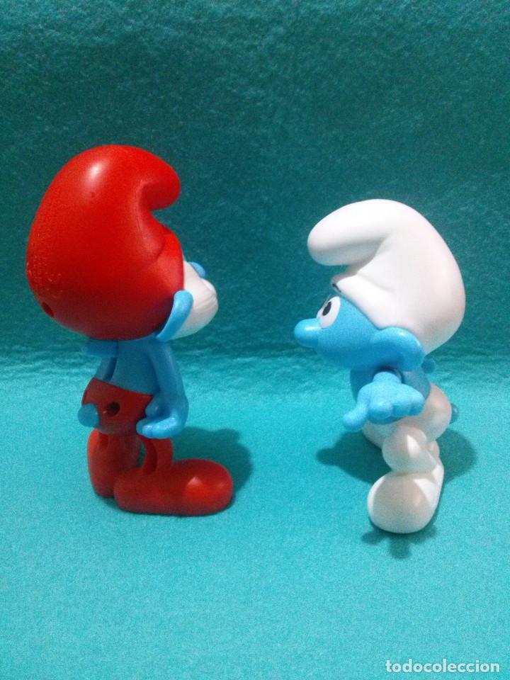 Figuras de Goma y PVC: Figuras PITUFOS....Peyo-Burguer King. - Foto 3 - 96946047