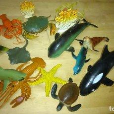 Figuras de Goma y PVC: LOTE DE FIGURAS PVC.ANIMALES MARINOS. Lote 97089435
